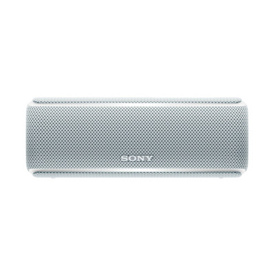 Sony/索尼 SRS-XB21无线蓝牙防水防尘重低音音箱户外派对便携音响 白色