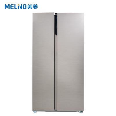 美菱(MELING) BCD- 552WUPC 552升 对开门冰箱风冷无霜变频 电脑控温 (钛灰拉丝)