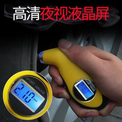 汽车胎压计胎压枪车用轮胎压监测器胎压表压力表数显气压表充气枪